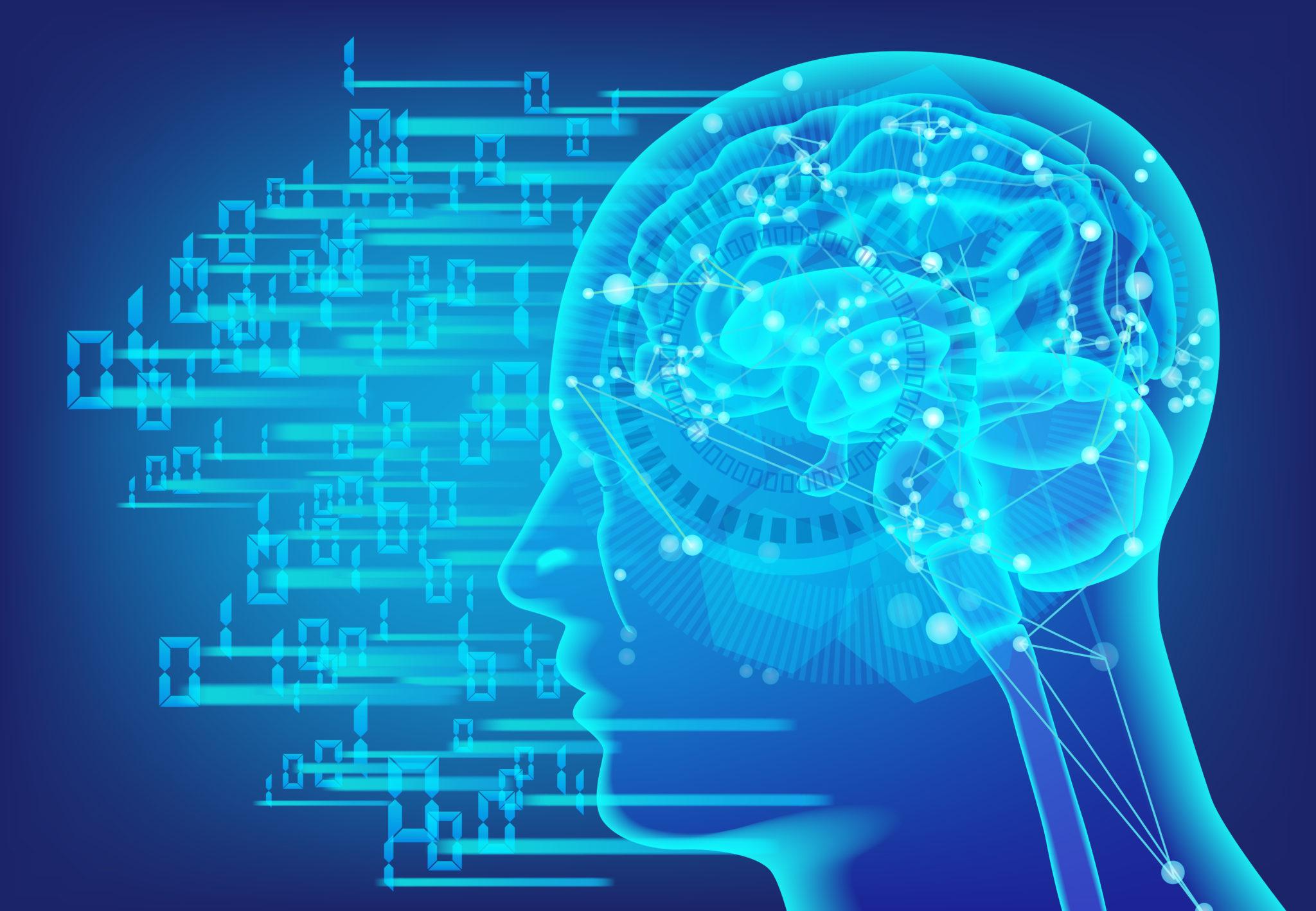 AIとネットワークのイメージ