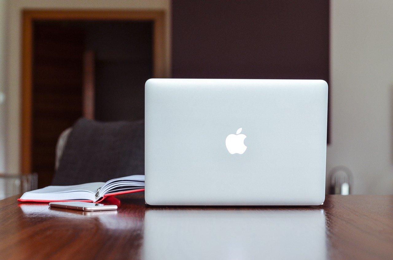 apple, macbook, notebook
