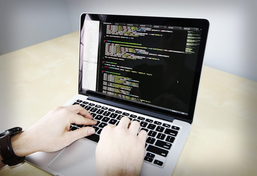 ラップトップ,コード,プログラミング