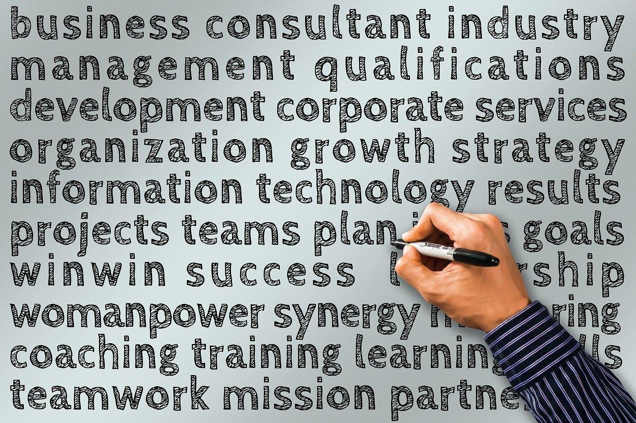 business, management, hand