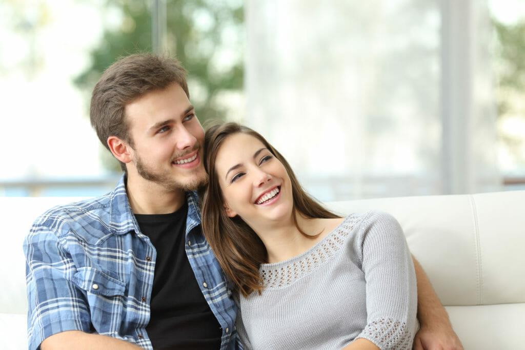 幸せな夫婦