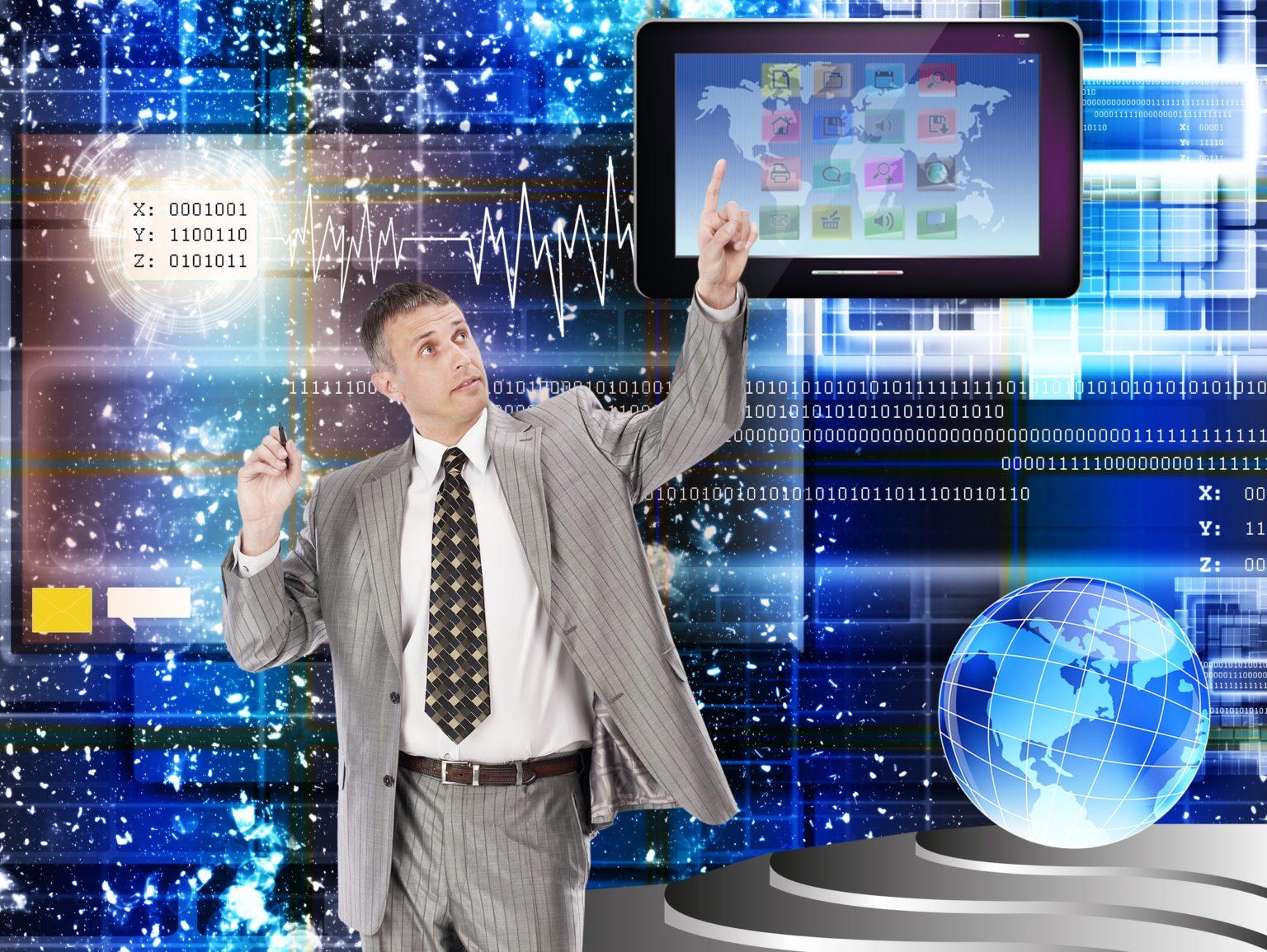 革新的なコンピューター インターネット技術の時間