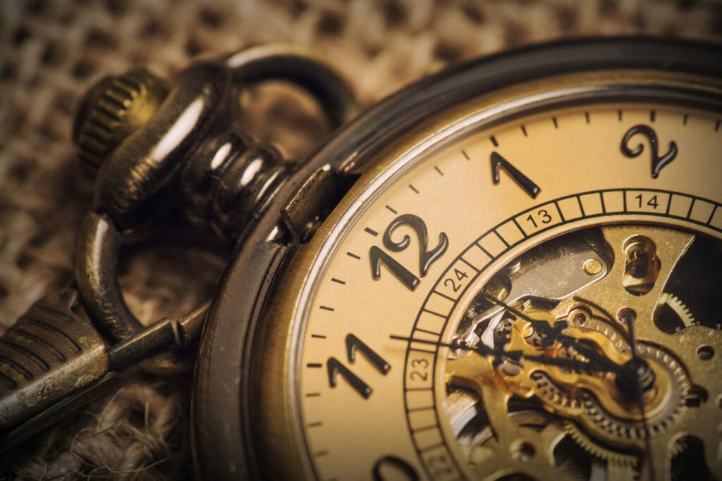 古い懐中時計