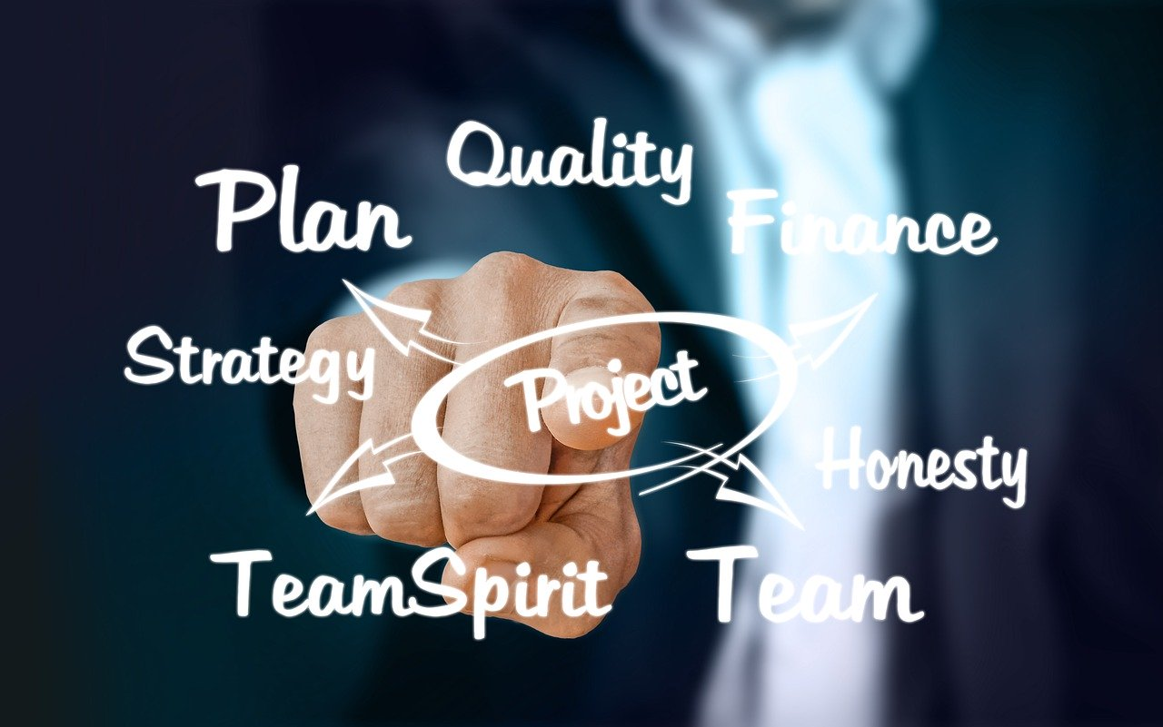 businessman, plan, quality