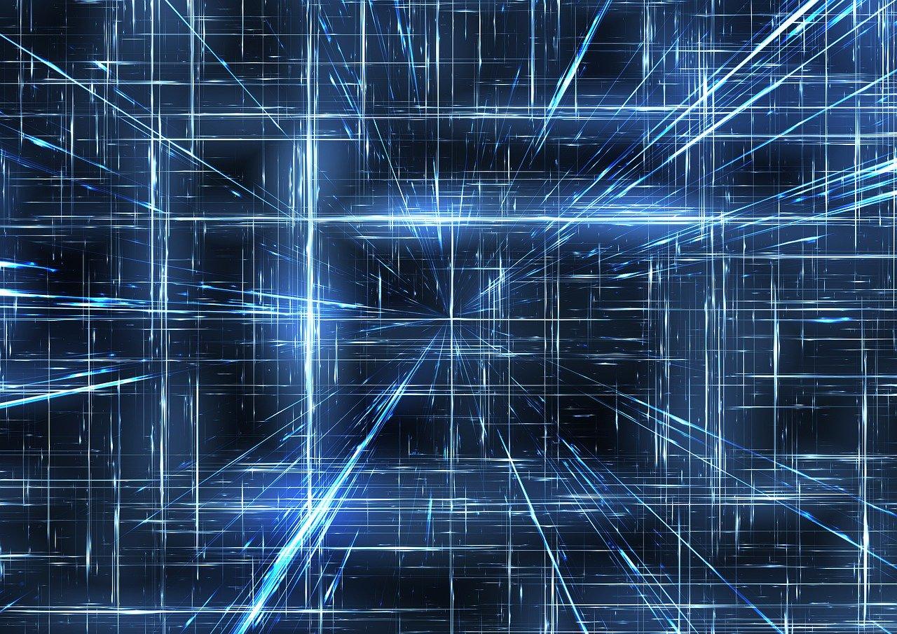 web, network, light