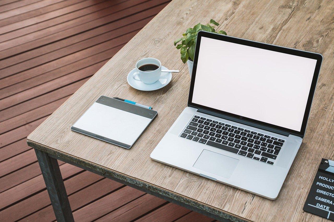 laptop, notebook, work