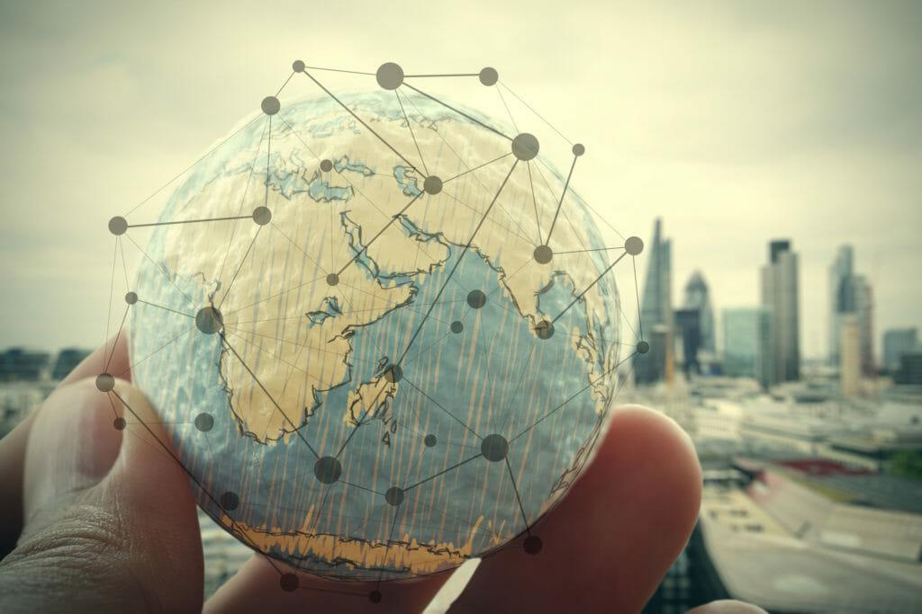 ネットワーク 世界 地球