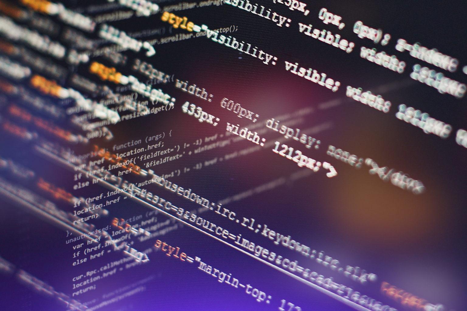ウェブ開発のHTMLソースコード