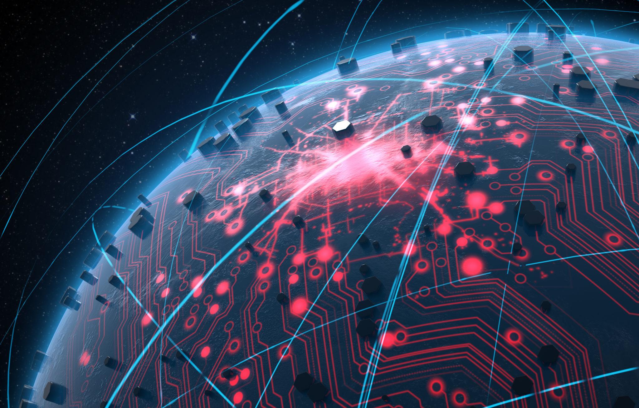 と可視化されたネットワーク