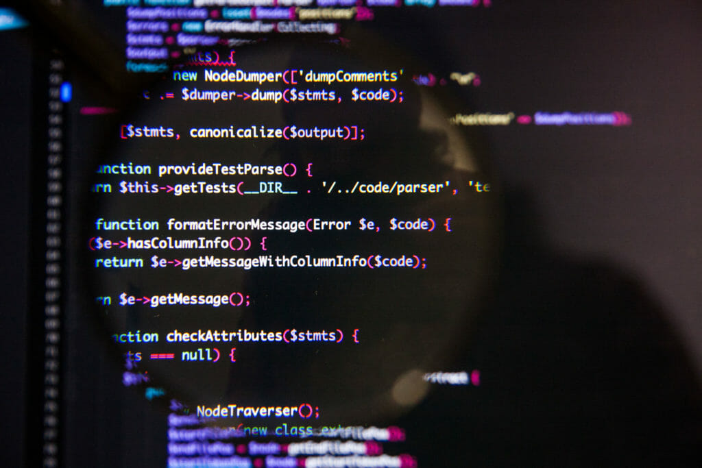 プログラムのコード