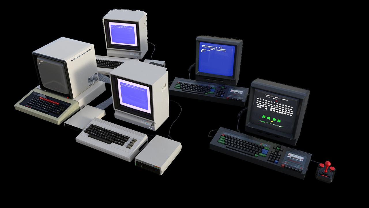 computer, 8 bit, old