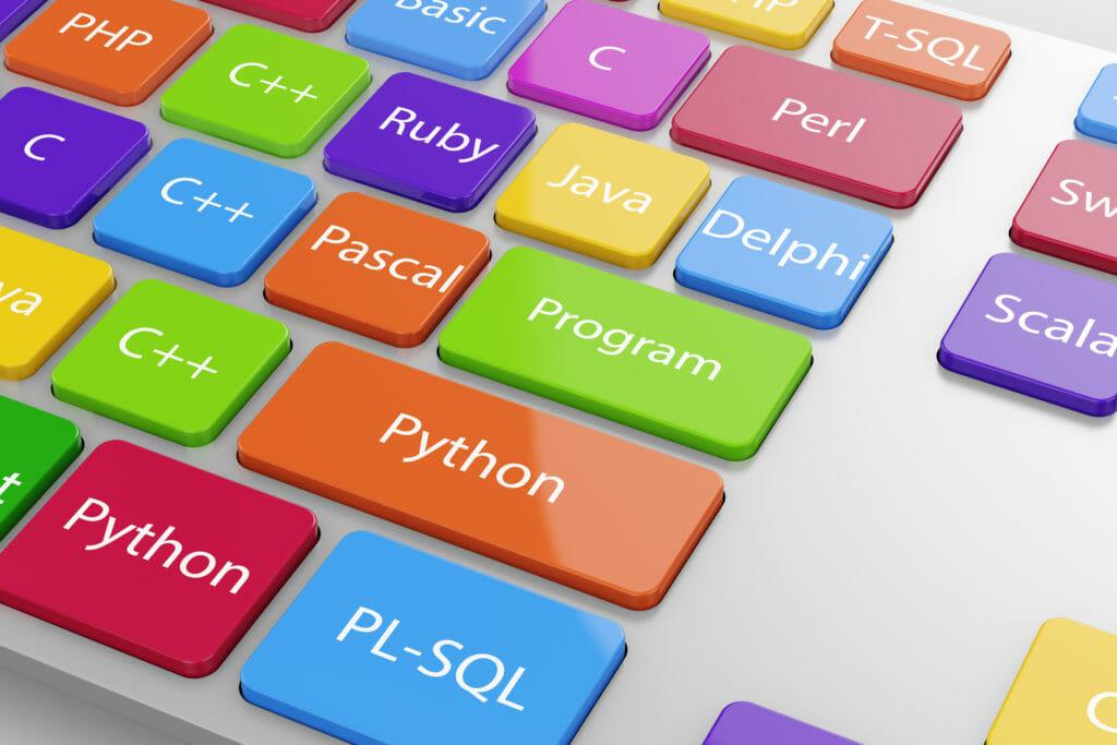 キーボードのマシンコード言語ボタン