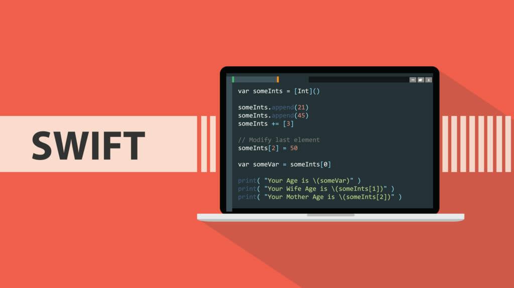 """プログラミング言語、Swift"""""""