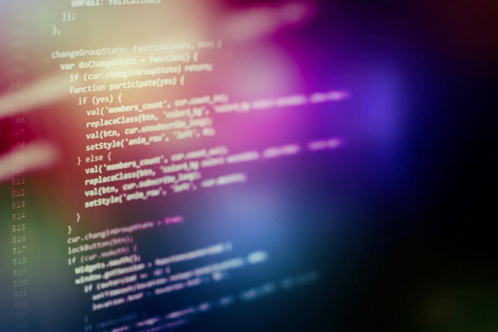 プログラミングソースコードHTML