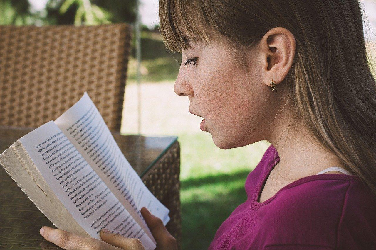 read, girl, reading