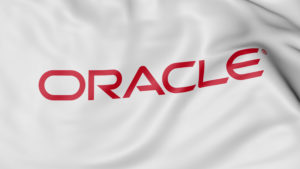 Oracleロゴフラッグ