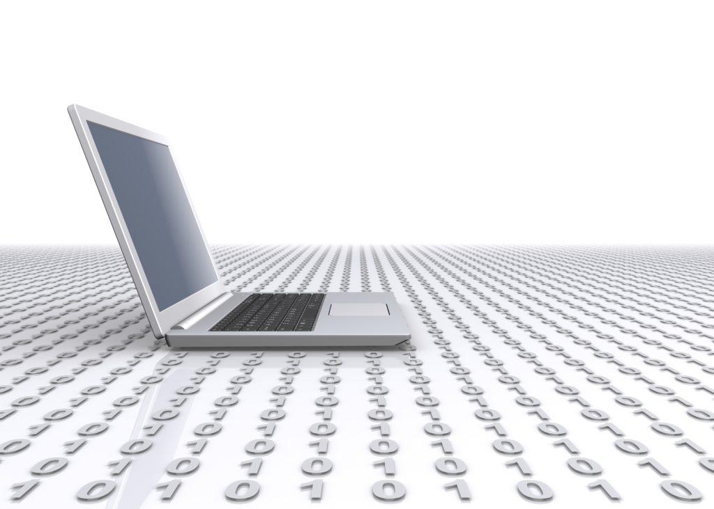 ノート パソコンとデジタル