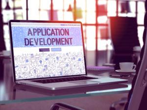 アプリケーション開発のランディング