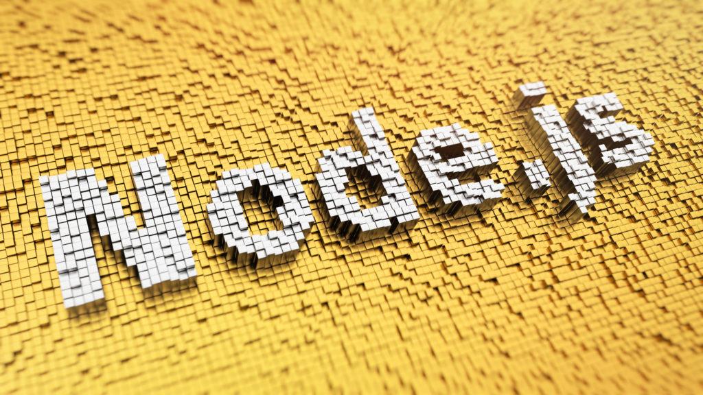 ピクセル上のNode.js