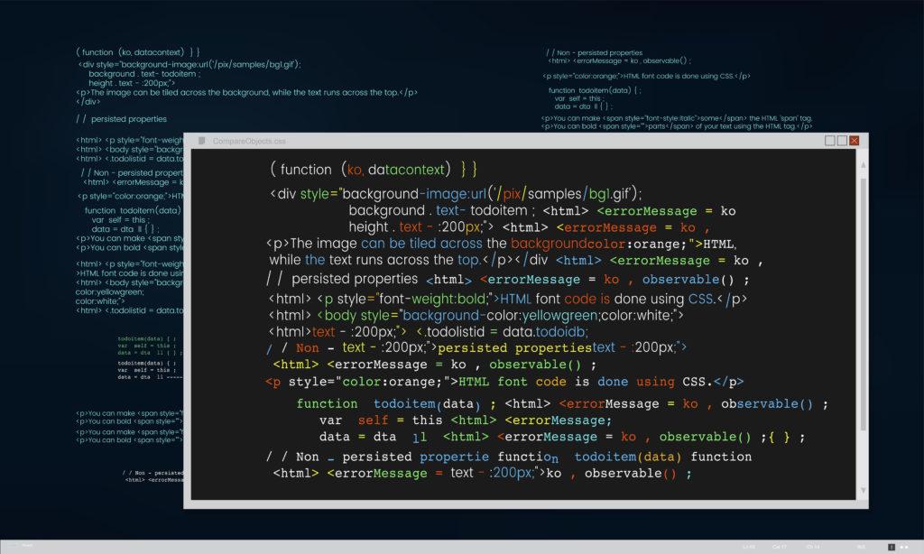 Webデザインとプログラミングインターフェース