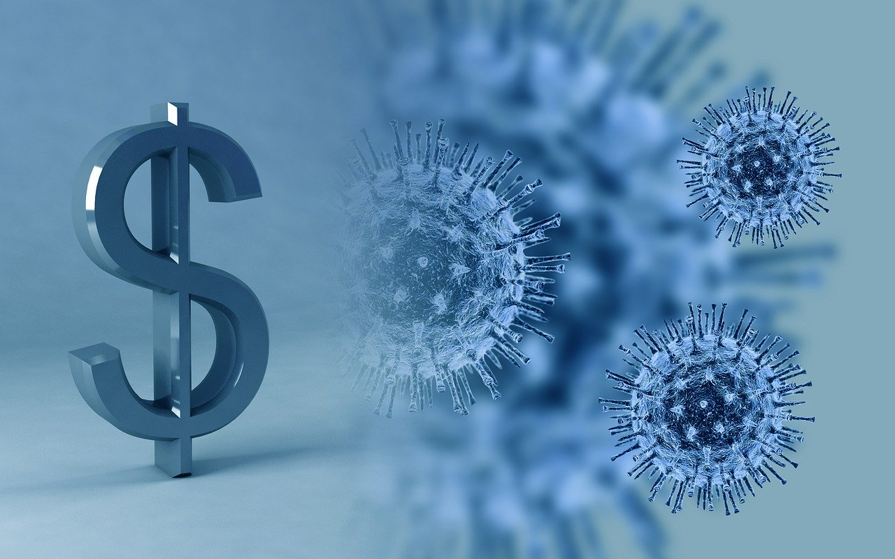 virus, money, coronavirus