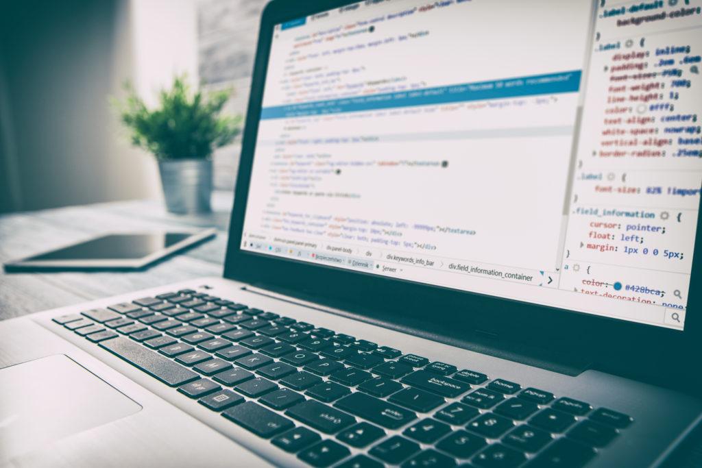 開発者開発 web のコード技術、コーディング プログラム、html 画面スクリプト インターネット職業辞書通信職業アイデンティティの概念 - ストック イメージをプログラミング