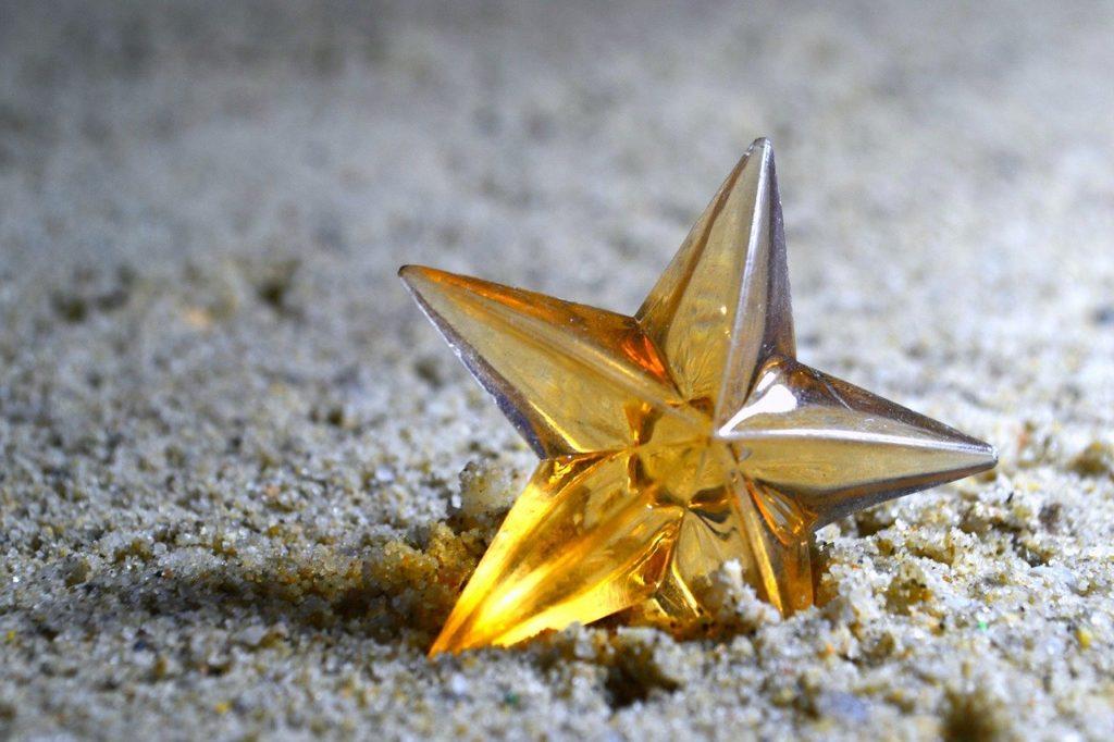 星,黄色,おもちゃ