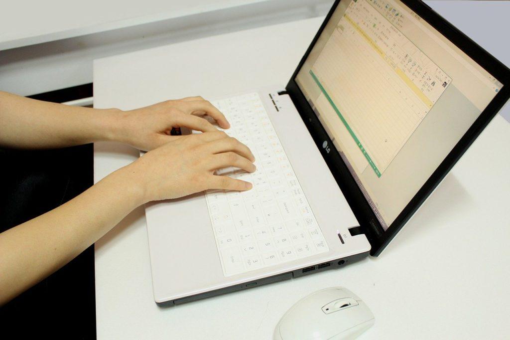 コンピューター,作業,相談