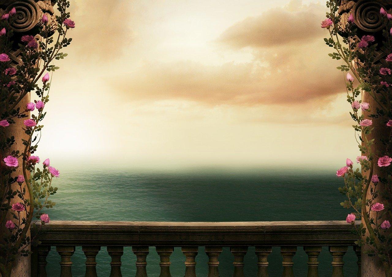 fantasy, background, sea
