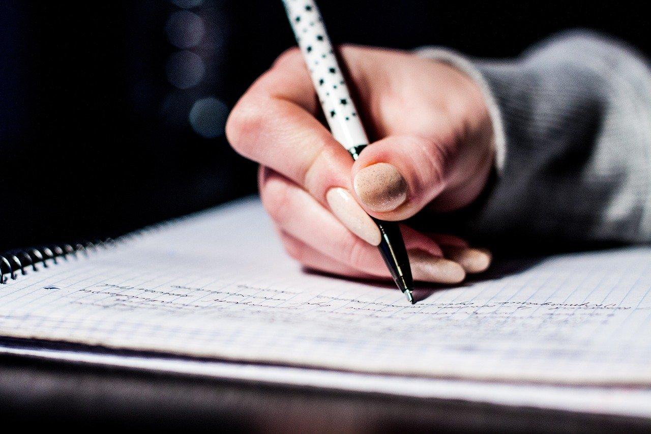 writing, notes, pen